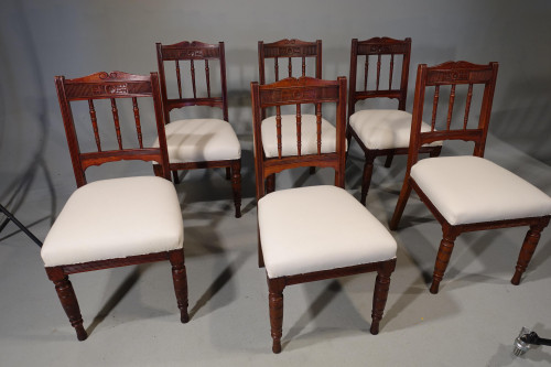 A Late 19th Century Hybrid Set of 20 Tavern Chairs