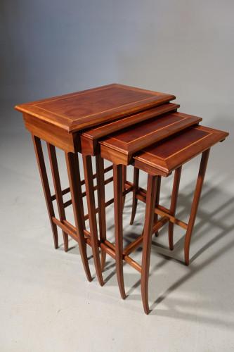 A Mid 20th Century Quartetto of Four Mahogany Tables