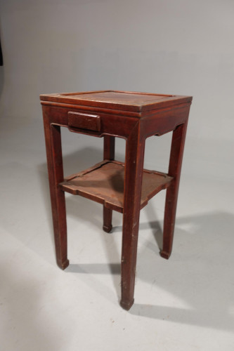 An Early 20th Century Square Section Lamp Table