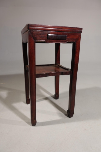 A Good Early 20th Century Hardwood Lamp Table