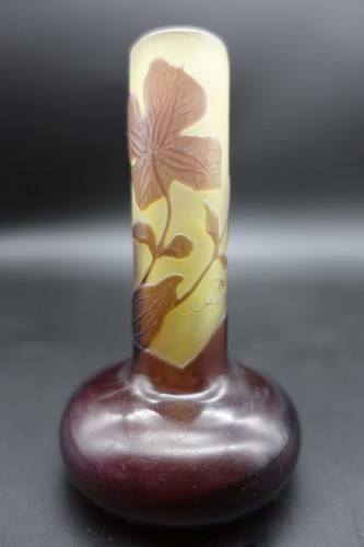 A Very Pretty  Early 20th Century Gallé Camille Vase
