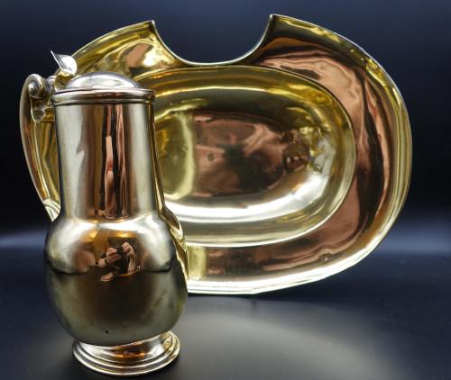 A Rare Queen Anne Period Bleeding Bowl and Lidded Jug