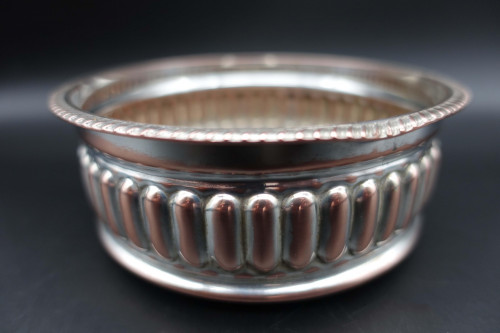 An Attractive George III Sheffield Plated Wine Coaster