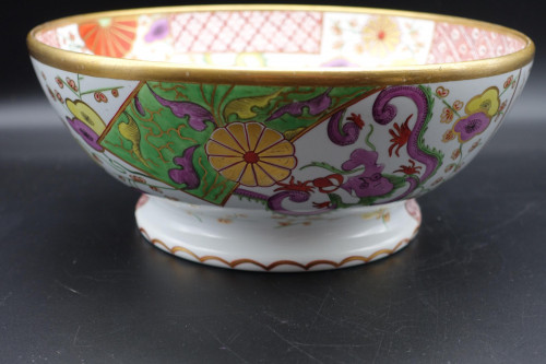 A Most Attractive Late 19th Century Flared Porcelain Bowl