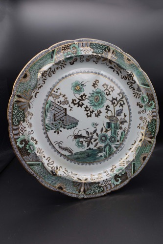 A Fine Early 20th Century Danielle Porcelain Charger