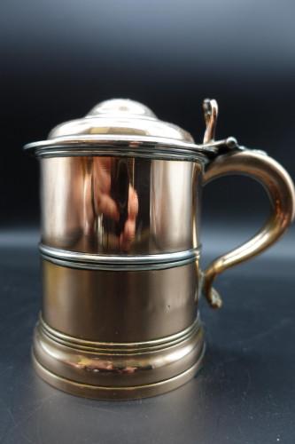 A Handsome George III Period Copper Tankard