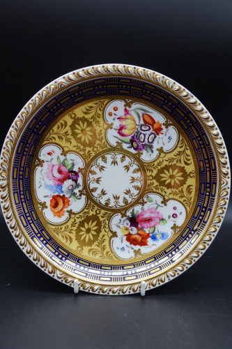 An Exceptional Mid 18th Century Porcelain Cabinet Plate