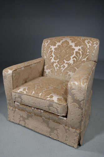 A Large and Handsome Modern Drawing Room Armchair