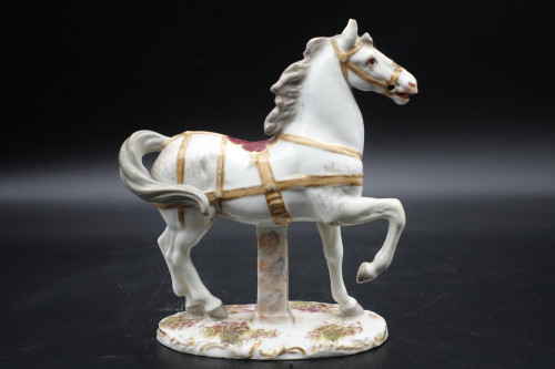 A Very Well Modelled Mid 20th Century Porcelain Horse