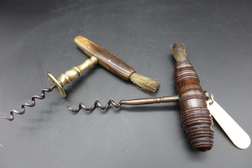 A Pair of Late 19th Century Open Corkscrews