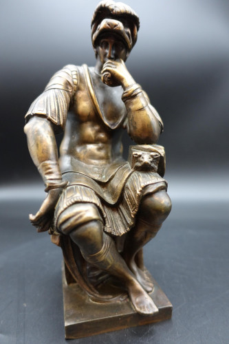 A Finely Cast Early 20th Century Bronze Figure of a Centurion by R Bellair and Co