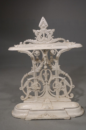 A Late 19th Century Cast-Iron Stick Stand of Elaborate Form