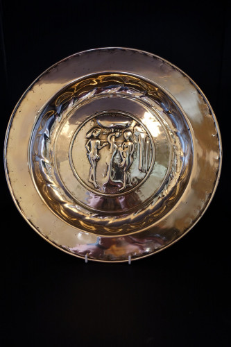 A Late 17th or Early 18th Century Nuremberg Alms Dish