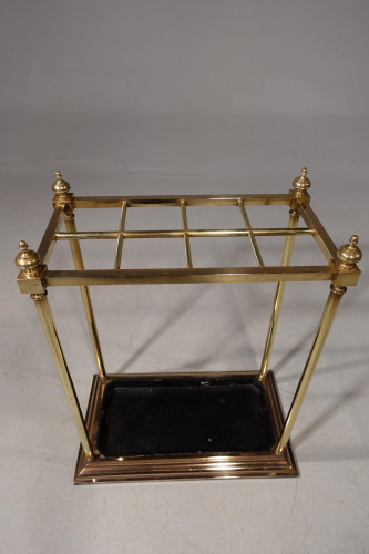 A Fine Early 20th Century  8 Section Rectangular Stick Stand