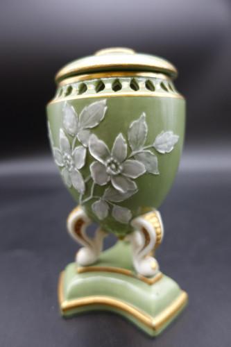 A Charming Late 19th Century Pâte-Sur-Pâte Porcelain Vase