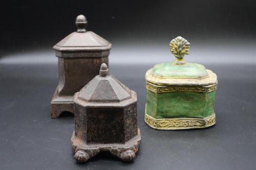 Three Early 19th Century Tobacco Jars