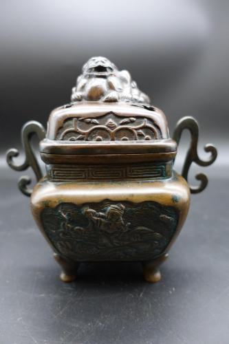A Late 19th Century Japanese Bronze Koro