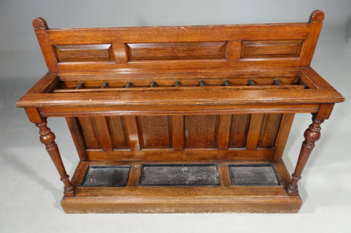 A Fine Late 19th Century Country House Oak Hall or Stick Stand