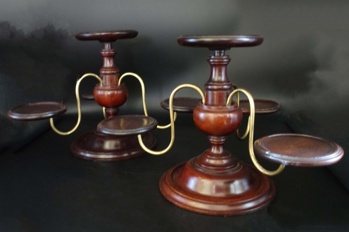 A Mid 19th Century Pair of Spinning Jennies