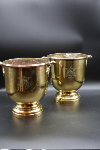 A Fine Quality Pair of Late 19th Century Champagne Buckets