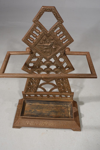 A Late 19th Century Arts and Crafts Cast-Iron Stick Stand
