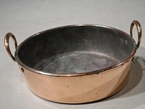 A George III Period Copper Skillet