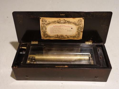 A Good Late 19th Century Swiss Six Air Musical Box