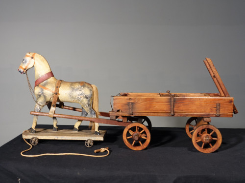 An Attractive Late 19th Century German Horse and Cart