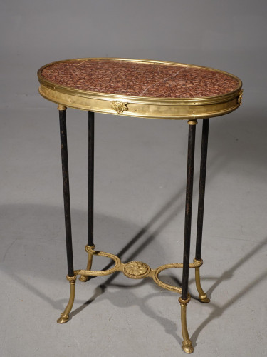 A Fine Quality Late 19th Century French Marble and Gilt Bronze Gueridon