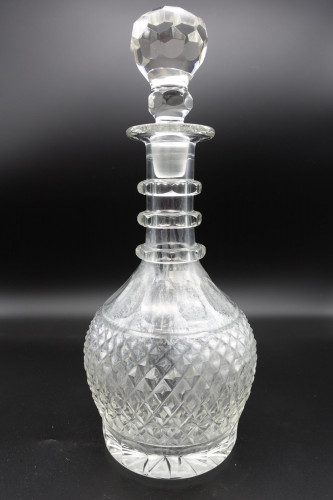 A Good Regency Period Large Mallet Shaped Decanter