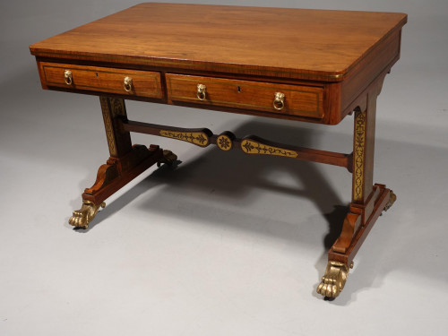 A Fine and Rare Regency Period Library Table