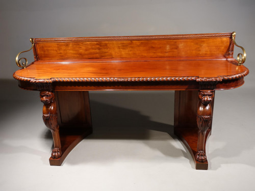 A Magnificent Late Regency Period Sideboard or Serving Table