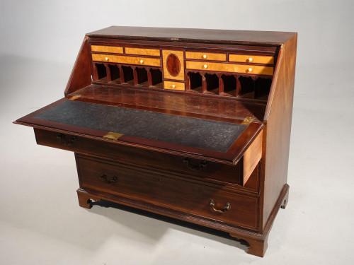 A George III Period Mahogany Bureau