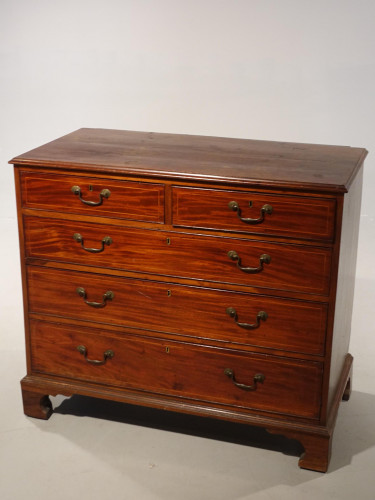 A Good George III Period Mahogany Chest of Drawers