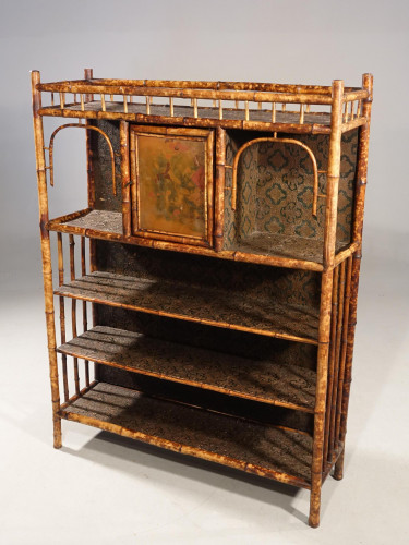 A Rare 19th Century Bamboo Side Cabinet