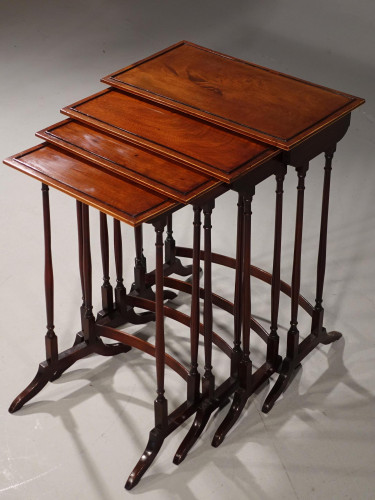An Attractive Early 20th Century Quartetto of Occasional Tables