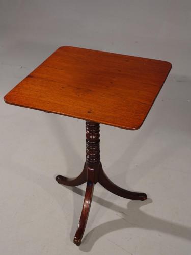 An Elegant Regency Period Square Tilt Table