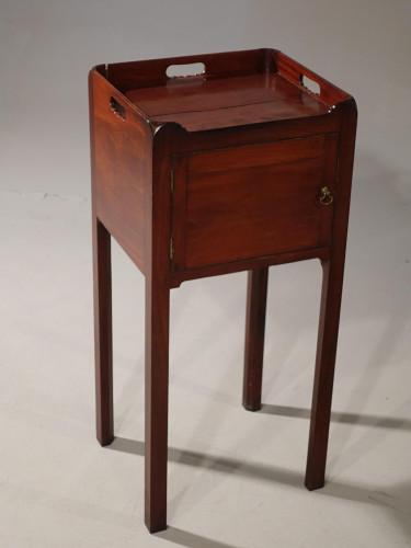 A Late George III Period Pot Cupboard