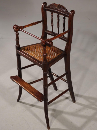 An Attractive Late 19th Century Child's High Chair