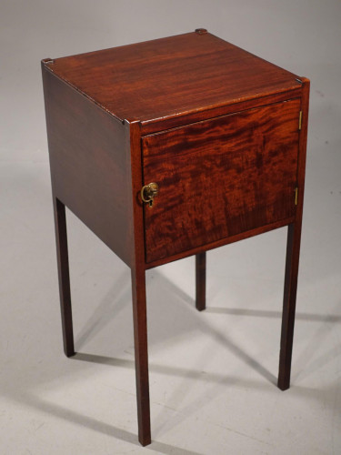 A George III Period Mahogany Pot Cupboard