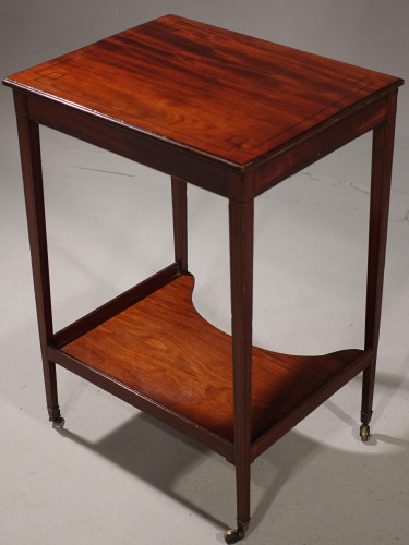 A Very Good George III Period Mahogany Work or Occasional Table