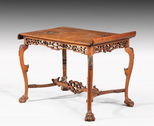Late 19th Century Japonaise Centre Table