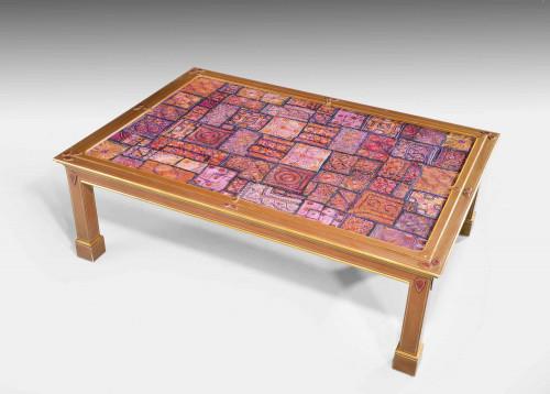 A Mid 18th Century Custom Built Low Table