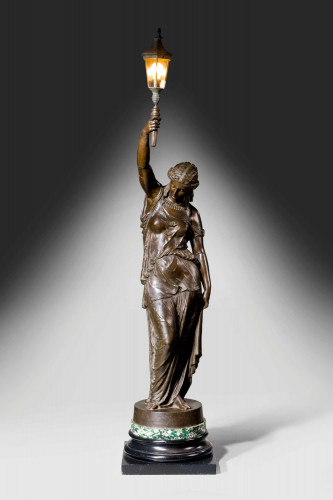 Figure of a 19th Century Neoclassical Maiden after John Bell