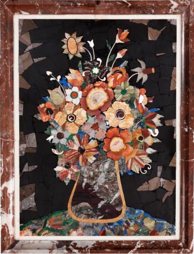 19th Century Pietra-Dura Panel