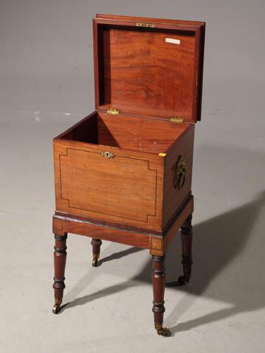 A Late George III Period Cellarette Box