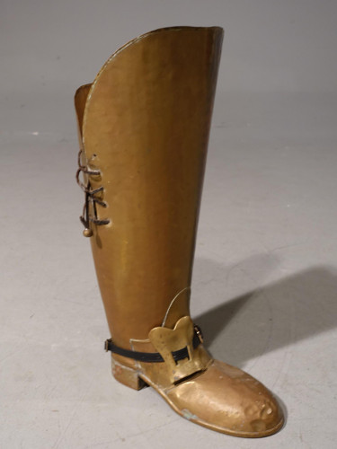 An Unusual Early 20th Century Stick Stand in the Form of a High Boot