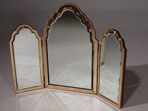 An Exceptional Art Deco Period Triptych Mirror