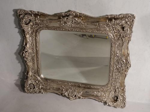 A Most unusual Mid 19th Century Rococo Mirror