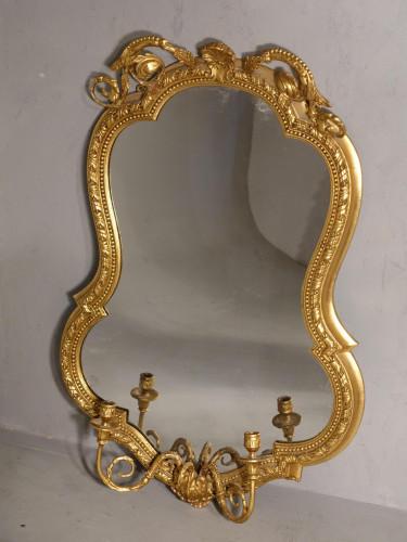 A Shapely Mid 19th Century Girandole